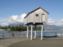 Funny house at Vancouver Stock Photo
