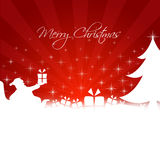Merry Christmas illustration Royalty Free Stock Images