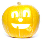 Funny jack o' lantern Royalty Free Stock Photo