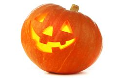 Funny Jack O Lantern Royalty Free Stock Photography