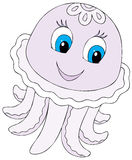 Funny Jellyfish Stock Photo