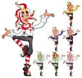 Funny Joker. stock images