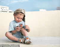 Funny kid Royalty Free Stock Photo
