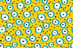 Funny kiddy polka dot pattern royalty free illustration