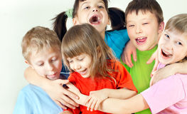 Funny kids Royalty Free Stock Photo