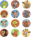 Funny kids animals Royalty Free Stock Image
