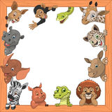 Funny kids animals Stock Photo