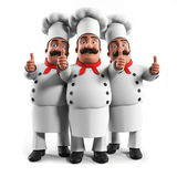 Funny kitchen chef Royalty Free Stock Photos