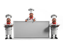 Funny kitchen chef Royalty Free Stock Photography