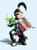Funny knight Stock Photography