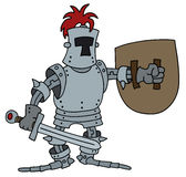 Funny knight Royalty Free Stock Images
