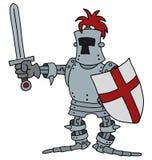 Funny knight Royalty Free Stock Photo