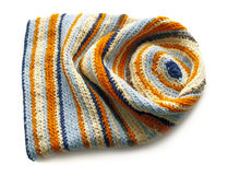 Funny knitted cap Stock Images