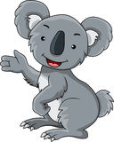 Funny koala cartoon Royalty Free Stock Photos