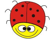Funny ladybug Stock Photo