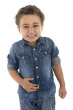 Funny Laughing Boy Royalty Free Stock Photo