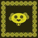 Funny lemon character vector illustration Stock Image