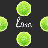 Funny of lime Royalty Free Stock Images