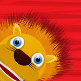Funny lion avatar icon Royalty Free Stock Photo