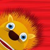 Funny lion avatar icon Royalty Free Stock Photo