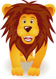 Funny lion cartoon Royalty Free Stock Image