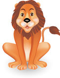 Funny Lion Illustration Royalty Free Stock Photo