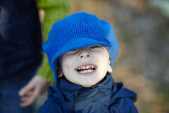 Funny little boy Royalty Free Stock Photo