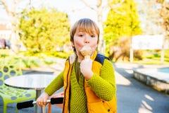 Little boy portrait stock photography