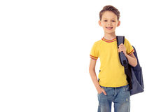 Funny little boy Stock Images