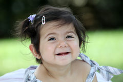Funny little child Stock Photos