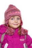 Funny little girl Stock Image