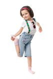 Funny little girl Royalty Free Stock Photo