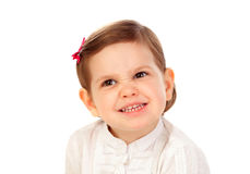 Funny little girl Royalty Free Stock Image