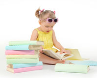 Reading books Royalty Free Stock Photography