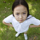 Funny little gril Stock Photography