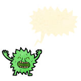 Funny little imp cartoon Royalty Free Stock Images