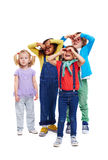 Funny Little Kids Stock Photography
