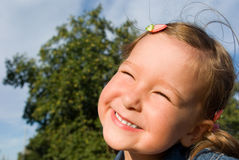 Funny little lady Royalty Free Stock Images
