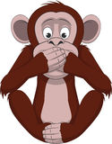 Funny little monkey Stock Photo