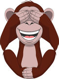 Funny little monkey Stock Image