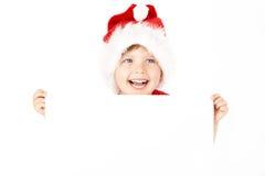 Funny little santa Stock Photos