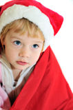 Funny little Santa Stock Image