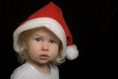 Funny little Santa Stock Photos