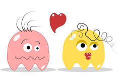 Funny love stock illustration