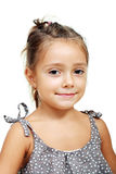 Funny lovely little girl Royalty Free Stock Image