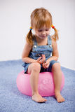 Funny lovely little girl Royalty Free Stock Photo