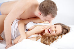 Funny lover Royalty Free Stock Images