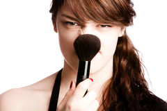 Funny make up Royalty Free Stock Photo