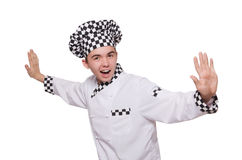 Funny male cook Stock Photo