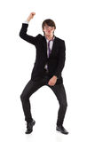 Funny male dancer Stock Image